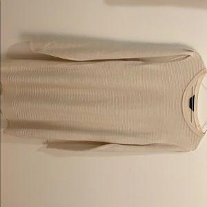 Beige winter dress